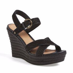 UGG Jazmine Mar Platform Wedge Sandal